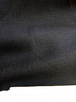 Льняная ткань для постельного белья, черного цвета (шир. 260 см)