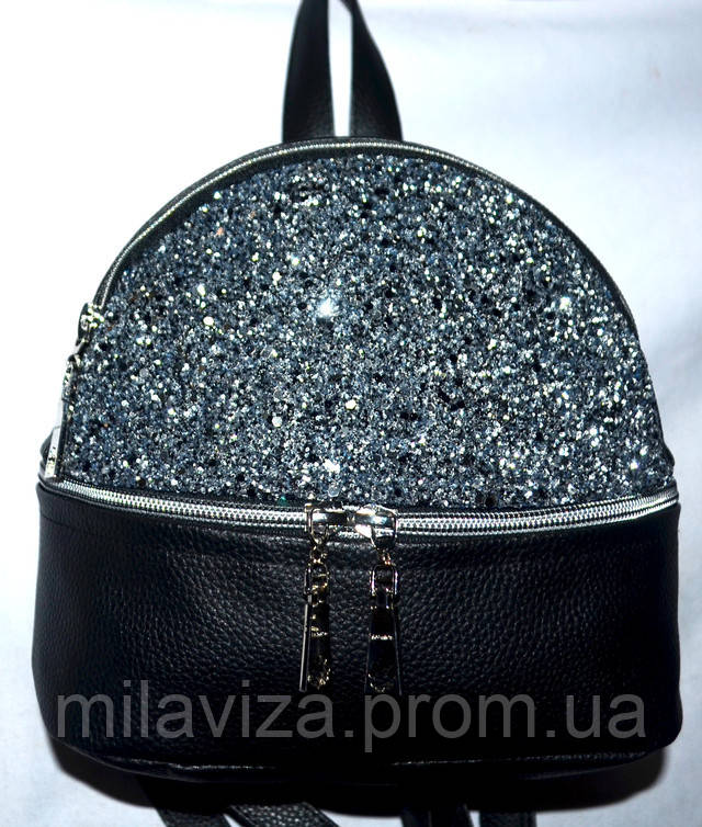 1ffd66a23f4e Женский маленький рюкзак с блестками   продажа, цена в Харькове. от ...