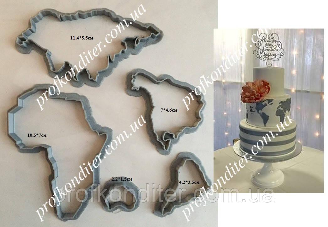 Вырубка Карта Мира