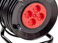 Удлинитель в катушке У-16-01 ПВС 2*1,5 25м,30м,40м,50м., фото 1