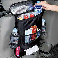ТОП ВЫБОР! Термосумка холодильник на спинку сиденья в автомобиль 4001528 термосумка, термосумка холодильник, термосумка для еды, термосумка для