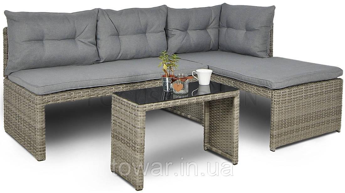 Комплект садової меблів Technorattan CANVAS Rattan