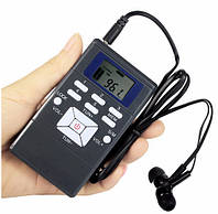 Карманный цыфровой радиоприёмник FM-60 (60-180MHz)