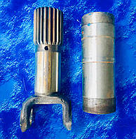 Шлицевая частина карданного валу ГАЗ-53.