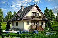 Дом из газоблока, монолитные дома под ключ, фото 1