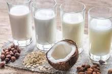 Растительное молоко, напитки, сливки
