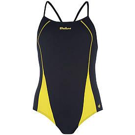 Купальник женский для плавания Waioka сине-желтый