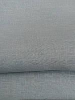 Льняная плотная скатертная ткань, бледно-бирюзового цвета (шир. 180 см)