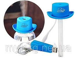 Мини увлажнитель воздуха USB в виде Ковбойской шляпы  Синий