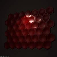 Декоративные гипсовые 3D панели Gipster «Соты»