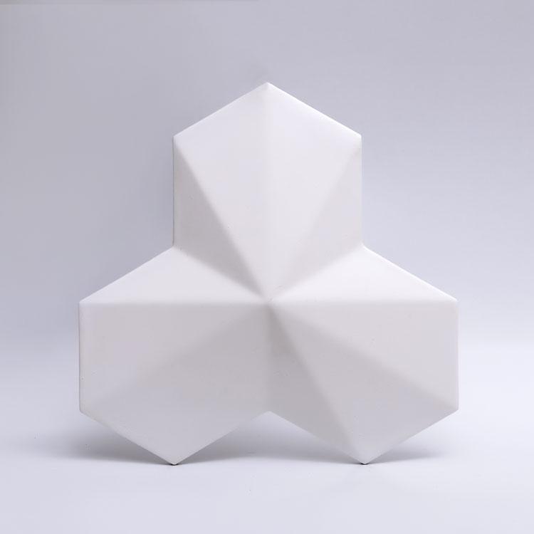Декоративные гипсовые 3D панели Gipster «Трилисники»
