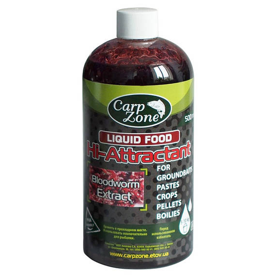 Ликвид Аттрактант Liquid Hi-Attractant Bloodworm Extract (Экстракт Мотыля)