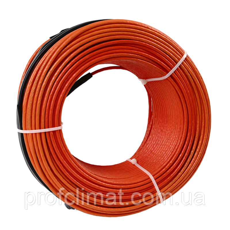 Тепла підлога Volterm HR18 двожильний кабель, 550W, 3,2-4 м2(HR18 550)