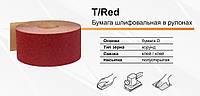 Бумага шлифовальная в рулонах T/Red 115/36