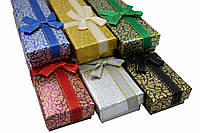 "Подарочная коробочка под браслет или цепочку ""Узор 21 х 4,2 х 2 см"""