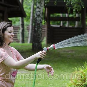 Пистолет-распылитель для полива 8-ми функциональный (центральный, туман, душ, угловой, полный, проливной дождь, фото 2