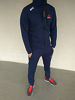Спортивный костюм мужской темно-синий Reebok UFC Рибок