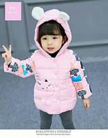 Демисезонная куртка для девочек от 9 мес - до 3 лет