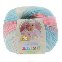 Alize, Baby Wool Батик 3571