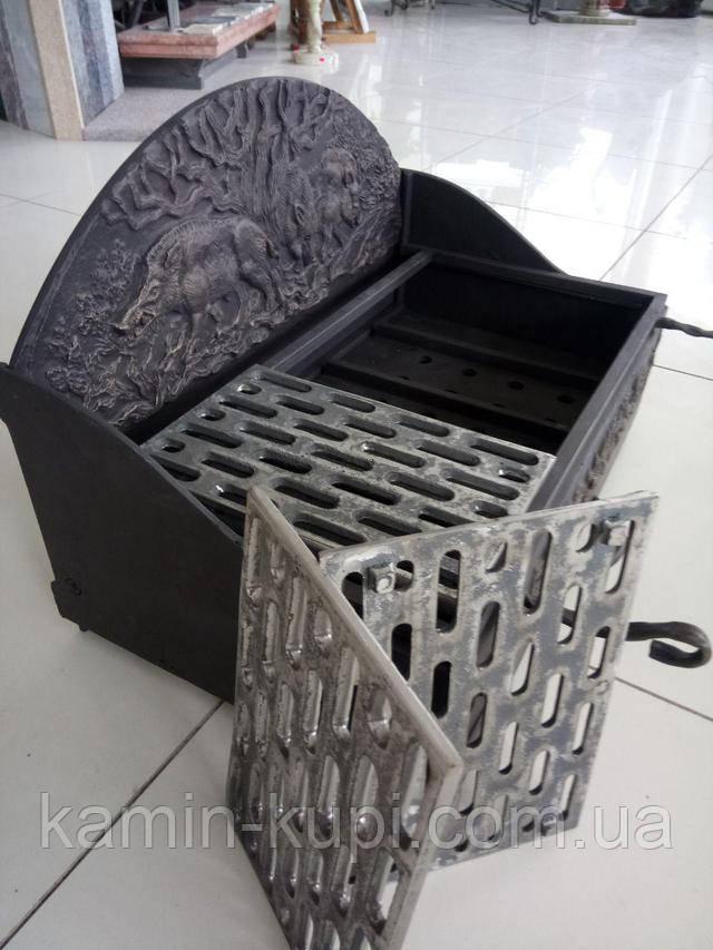 Чугунных гриль-решетки для мангала Кабаны