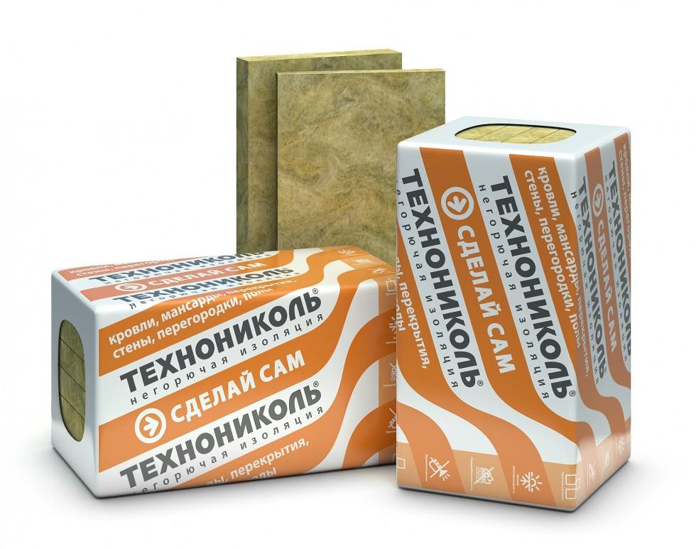 Роклайт (30 кг/м3) Утеплитель ТехноНиколь для скатной кровли