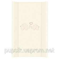 Пеленальная доска Ceba Baby ND/TD 50*80 см  Слоники