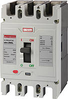 Шкафной автоматический выключатель e.industrial.ukm.250SL.100, 3р, 100А