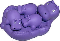Набор игрушек для ванны Baby Team Веселые друзья Бегемотики (9001 бегемотик)