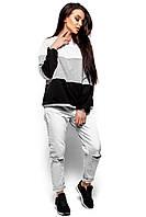 Женский свитшот Karree Мальта, серый