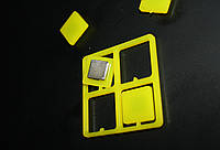 Мощные неодимовые магниты для металлических/стеклянных магнитных досок. 20х20мм 4 шт.