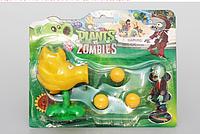 Игрушка Растения против зомби Огненный горохострел Фирменная упаковка Plants vs zombies, фото 1