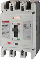 Шкафной автоматический выключатель e.industrial.ukm.250SL.125, 3р, 125А