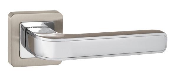 Ручка раздельная PUNTO NOVA QR SN/CP-3 матовый никель/хром