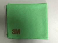 3M 02011 - Полировальная салфетка микрофибра Scotch-Brite™ 36х32 см, зеленый