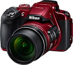 Компактный фотоаппарат Nikon Coolpix B700 red