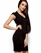 Женское облегающее платье с сеткой на спине (Лима kr), фото 3