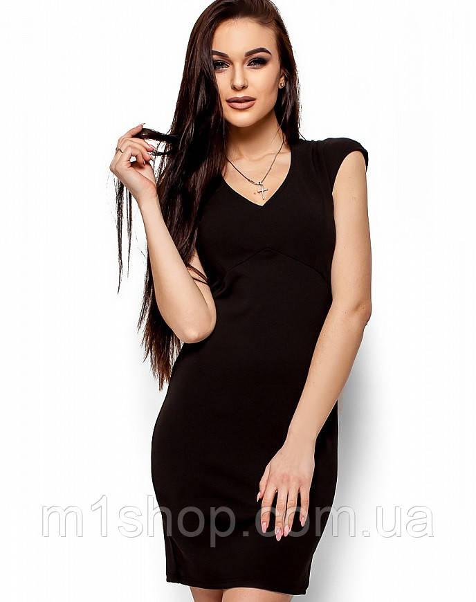 Женское облегающее платье с сеткой на спине (Лима kr)