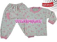 Пижама детская оптом Турция р.1,2,3,4 года.