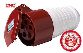 Розетка переносна YHT-215-225, 16-32А, IP44
