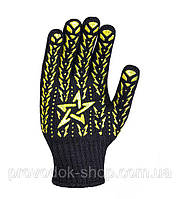 Распаковка и обзор рабочих строительных трикотажных перчаток Doloni 562
