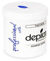 Белая Сахарная паста для шугаринга Depilax White Exclusive Professional 1200г, фото 1