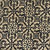 Ткань лен принтованный (3898)
