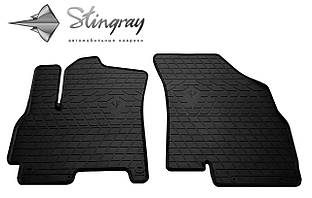 CHERY Tiggo 7 2017- Комплект из 2-х ковриков Черный в салон