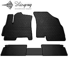 CHERY Tiggo 7 2017- Комплект из 4-х ковриков Черный в салон