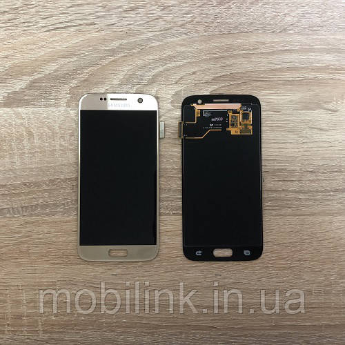 Дисплей на Samsung G930 Galaxy S7 Серый(Silver),GH97-18523B, Super AMOLED!