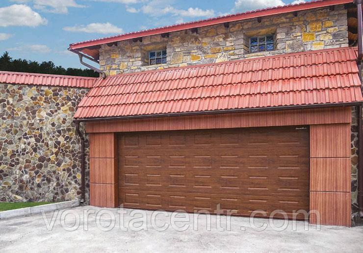 Автоматичні секційні гаражні ворота 2500 * 2000 RSD02 DoorHan