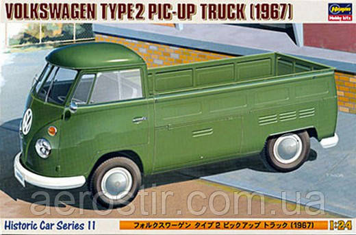 Volkswagen Type 2 Pick Up Truck 1967 1/24 Hasegawa 21211 [ HC-11]