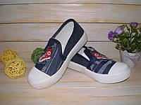 Кеды джинсовые для мальчика р27-32 ТM BBT, маломерки