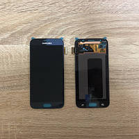 Дисплей Samsung S6 G920 Чёрный Black GH97-17260A оригинал!