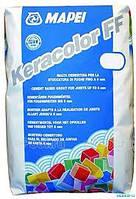 Затирка для  швов цементная 20 кг, KERACOLOR FF Mapei(цвет белый )
